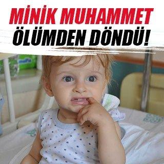Minik Muhammet'in soluk borusundan nohut çıkarıldı
