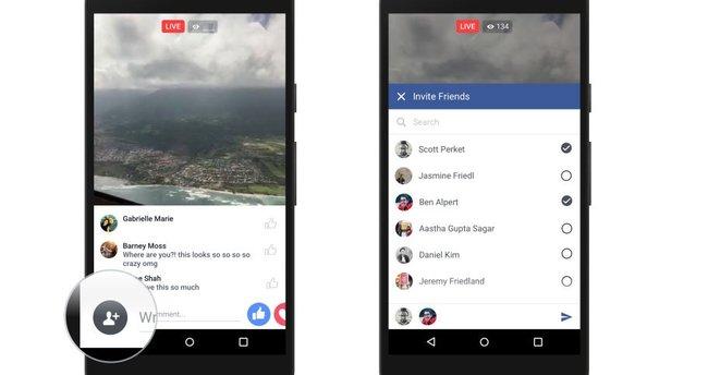 Facebook' ta planlı canlı yayın özelliği