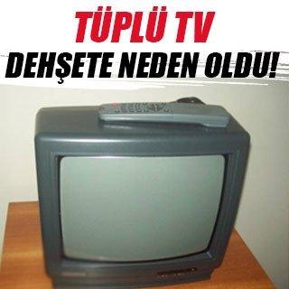 Televizyon patladı, ev kullanılamaz hale geldi