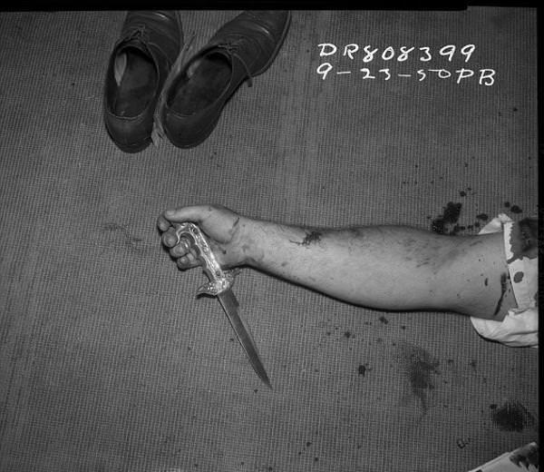 Arşivlerden çıkan cinayet fotoğrafları