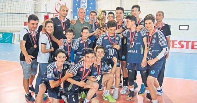 Arkaslı gençler Türkiye Şampiyonu
