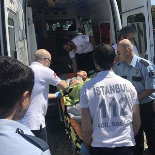 Haliç Metro Köprüsü'nden atlayan genç kızı vapur kaptanı kurtardı