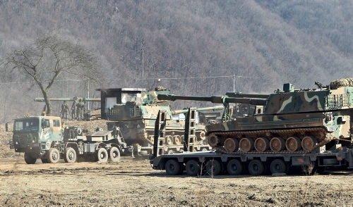 Güney Kore ve ABD'den ortak askeri tatbikat