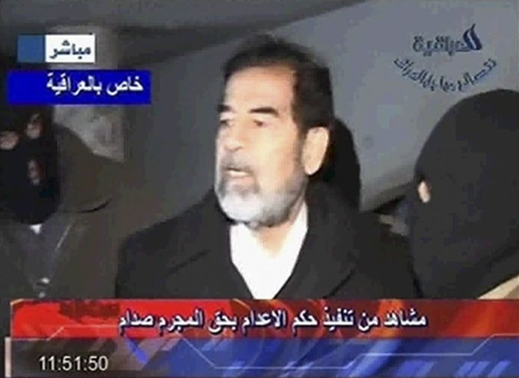 Saddam Hüseyin'in idam fotoğrafları