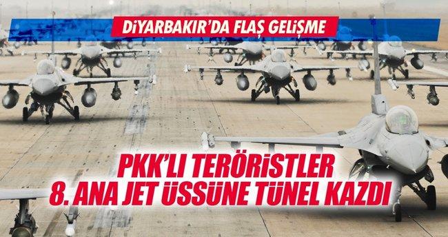 Teröristler askeri üsse girmek için tünel kazdılar!