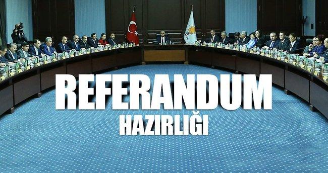 AK Parti referanduma hazırlanıyor