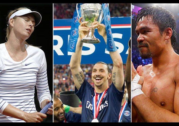 Dünyanın en çok kazanan sporcuları