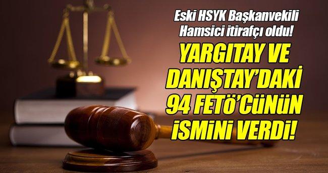 Eski HSYK Başkanvekili Hamsici'den çarpıcı itiraflar!