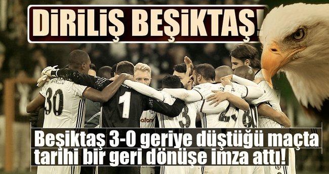 Beşiktaş 3-3 Benfica - Dev maç sona erdi!