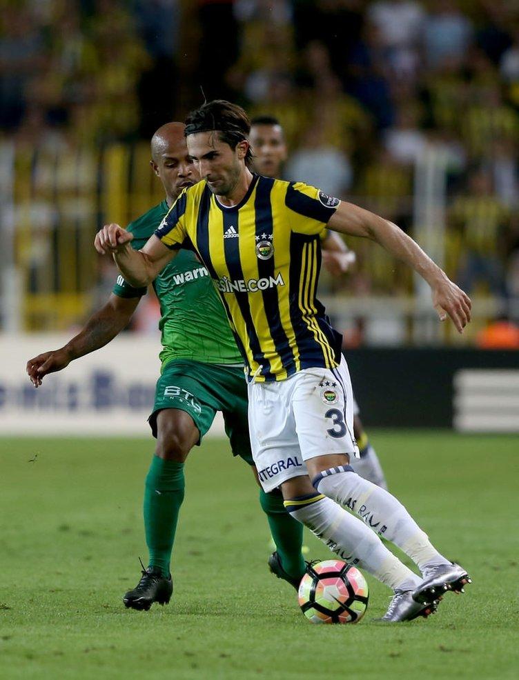 Fenerbahçe - Bursaspor maçından kareler