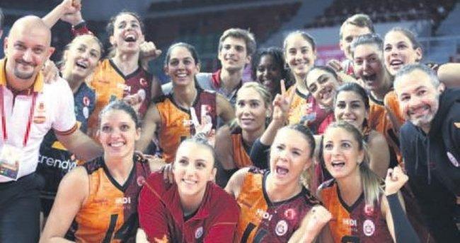 Galatasaray filede Kartal'ı rahat geçti