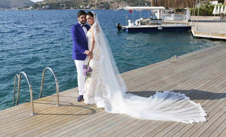 Ebru Yaşar evlendi