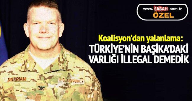 Koalisyon'dan yalanlama: Türkiye'nin Başika'daki varlığı illegal demedik