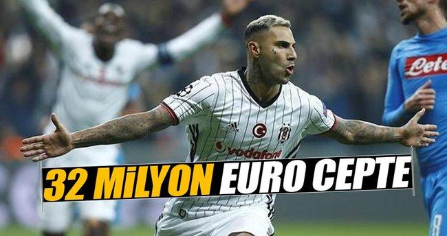 32 milyon Euro cepte