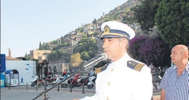 Alanya Liman Başkanı görevinde