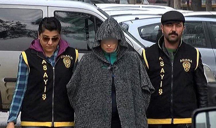 Turist kadınları pazarlayan kadın gözaltına alındı