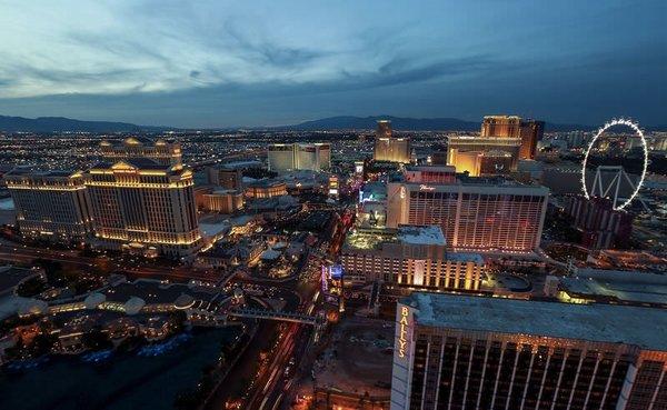 """Las Vegas bir """"ikon"""" daha kazandı"""