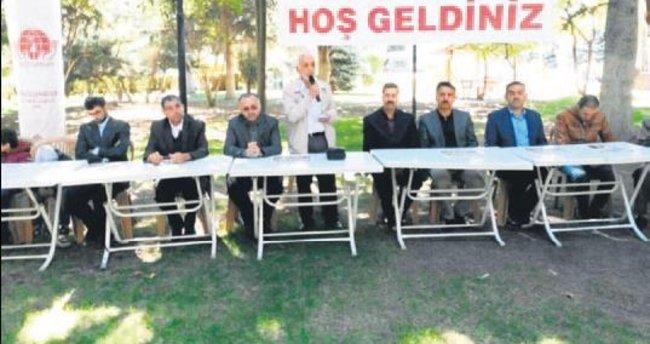 MAZLUMDER Suriyelilerle Fuar Piknik'te buluştu