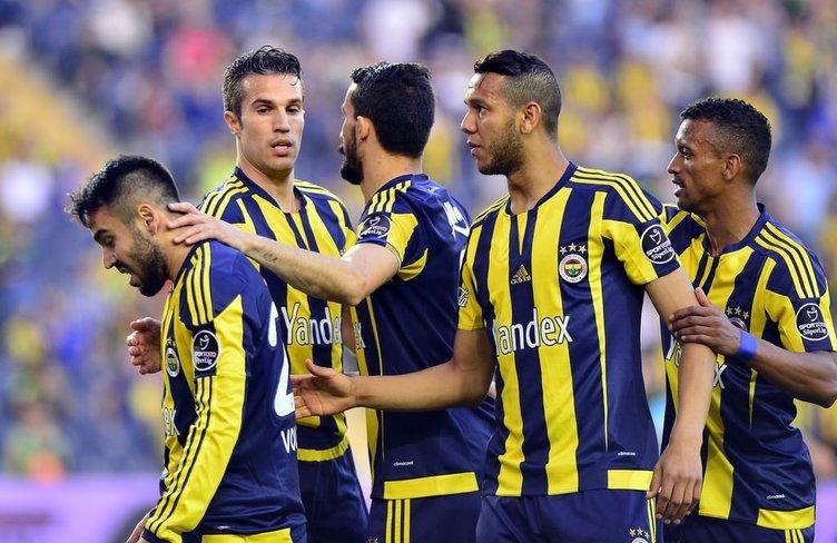 Fenerbahçe-Mersin İdman Yurdu maçının kareleri