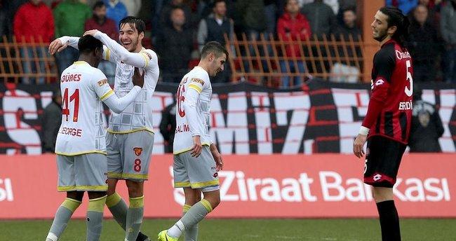 Vefa Stadı'nda Göztepe güldü