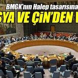 Rusya ve Çin, BMGK'da Halep tasarısını veto etti!