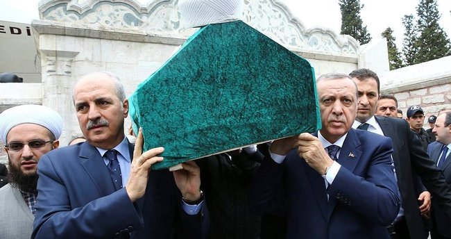 Cumhurbaşkanı Erdoğan, Baytan'ın cenazesine katıldı