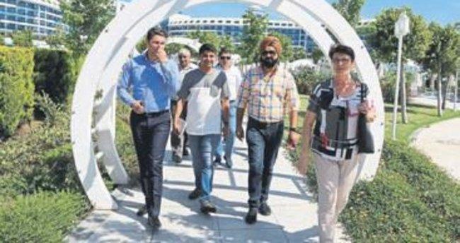 Düğün operatörleri Antalya'yı geziyor