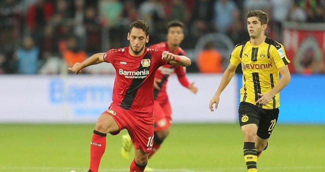 Bayer Leverkusen, Hakan Çalhanoğlu'nun asistleriyle kazandı