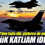 Irak'ta savaş uçakları sivilleri bombaladı iddiası!