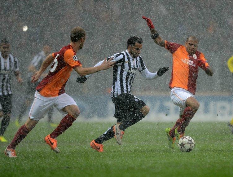 G.Saray-Juventus maçı Twitter'ı salladı