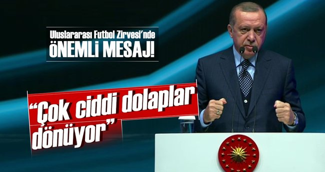 Cumhurbaşkanı Erdoğan: Dönen dolaplara bizzat şahit oldum