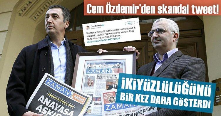 Cem Özdemir'den skandal tweet