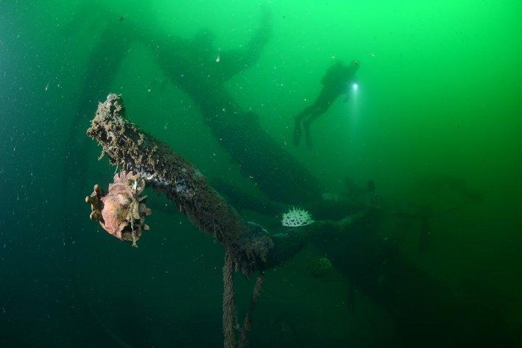 Felaketin izleri su altında bir müzeye dönüştü