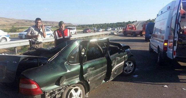 Kırıkkale'de 3 trafik kazası: 15 yaralı
