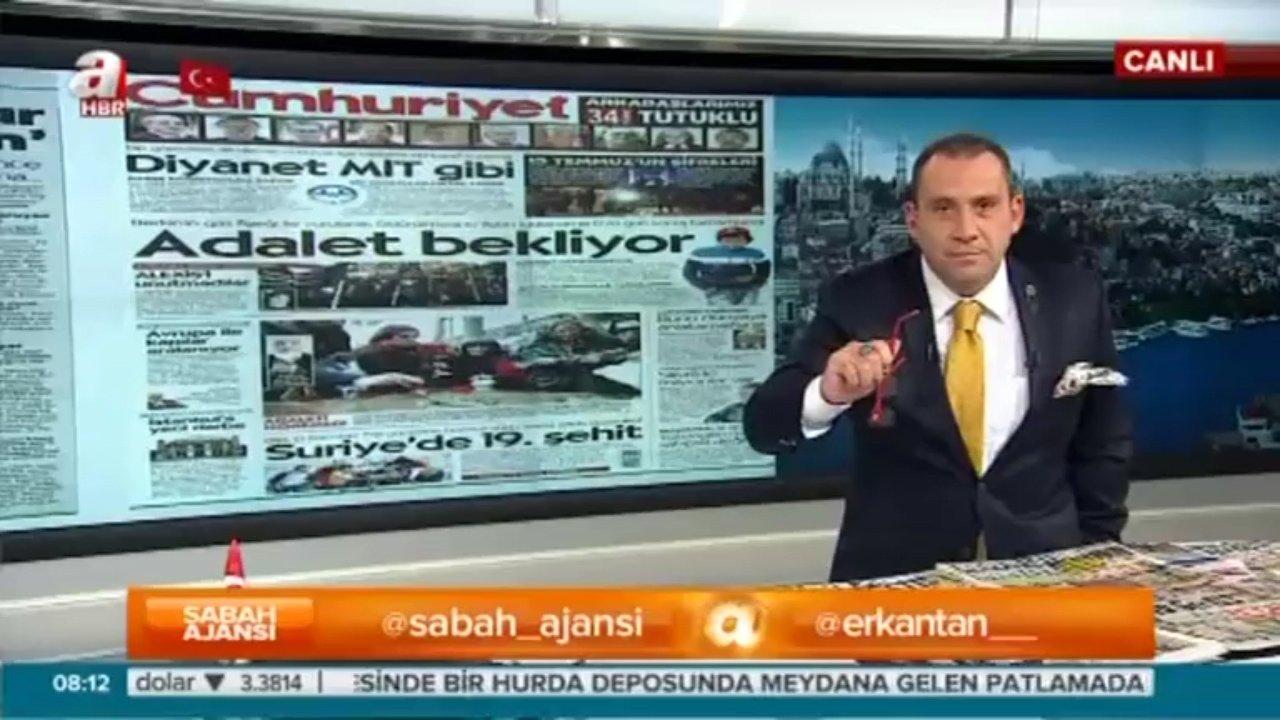 Cumhuriyet Gazetesi'nde gazeteci kılıklı teröristler var!