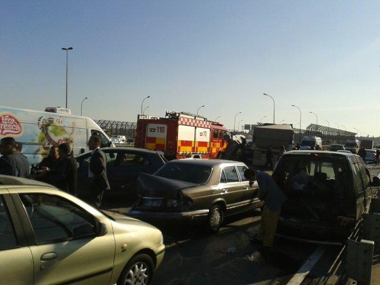 Haliç Köprüsü'nde feci kaza