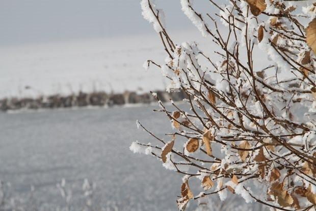 Ardahan karlarla kaplandı
