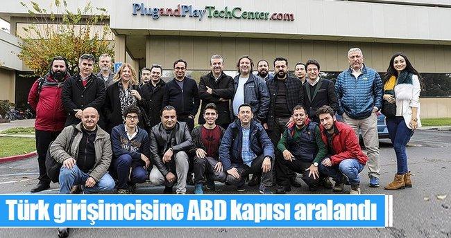 Türk girişimcisine ABD kapısı aralandı