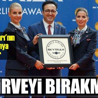 Türk Hava Yolları'nın başarısını dünya konuşuyor