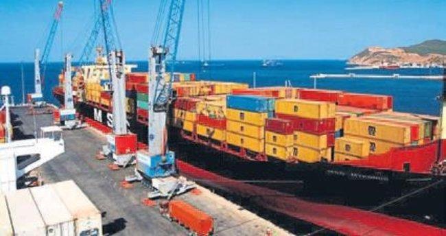 Ege'nin ekim ayı ihracatı 960 milyon doları geçti