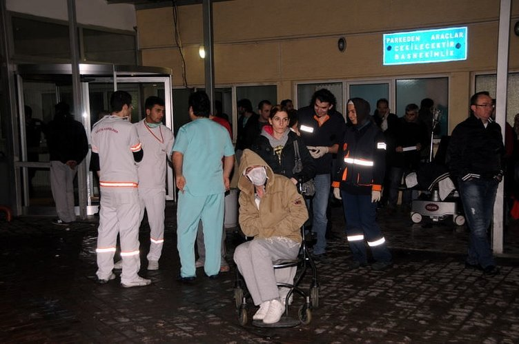 Okmeydanı Hastanesi'nde yangın paniği