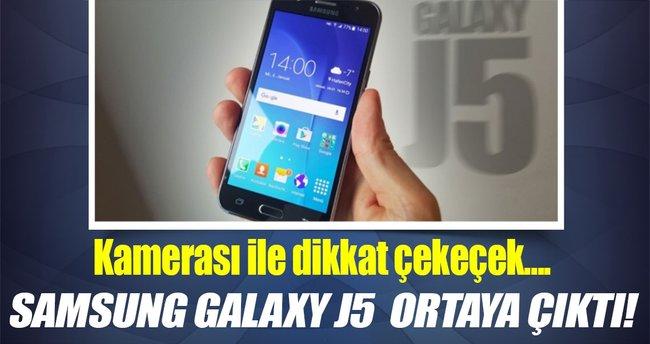 Samsung Galaxy J5  ortaya çıktı!
