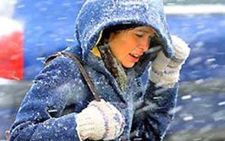 Soğuk hava yüz felcine sebep olabilir