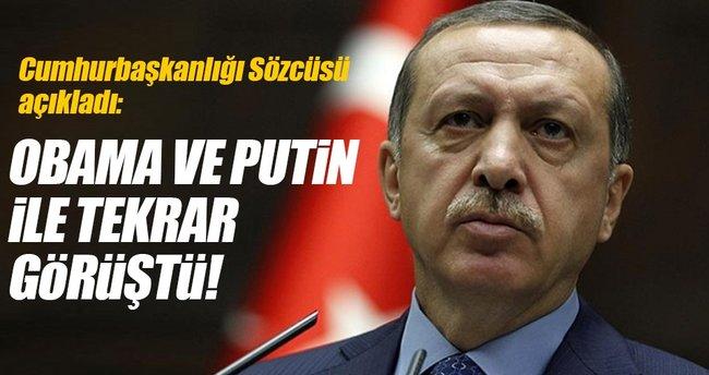 İbrahim Kalın: Erdoğan, Putin ve Obama'yla Halep'i tekrar görüştü