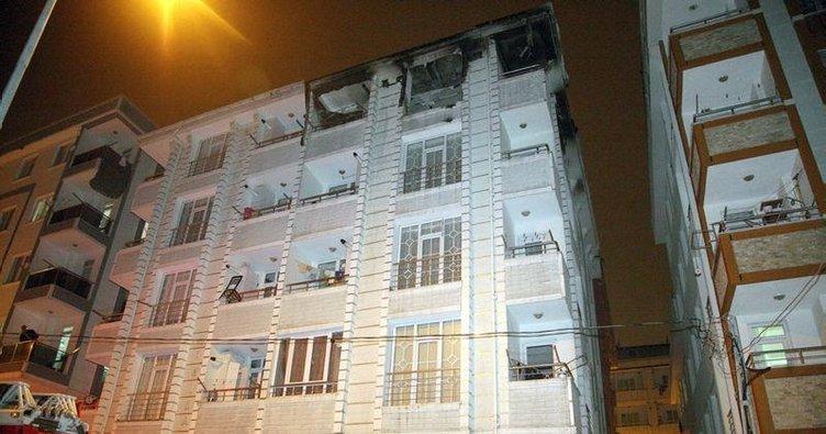 Bonzai yaparken evi patlattılar