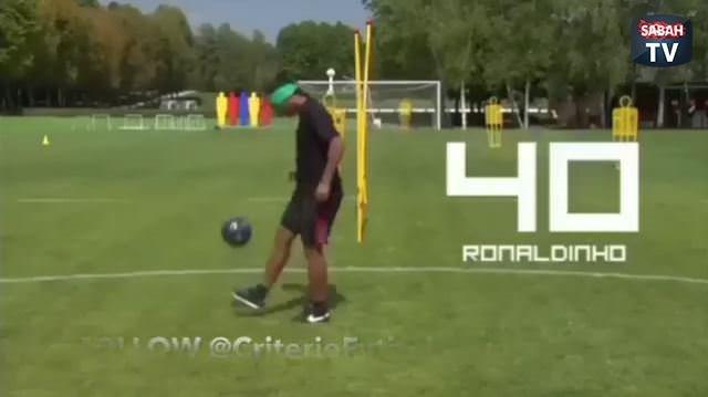 Ronaldinho'nun farkı