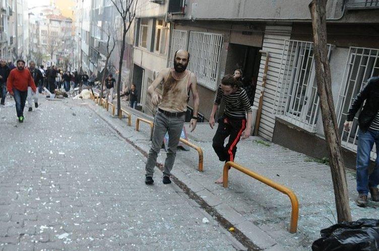 Patlamadan yürüyerek çıktılar ama…