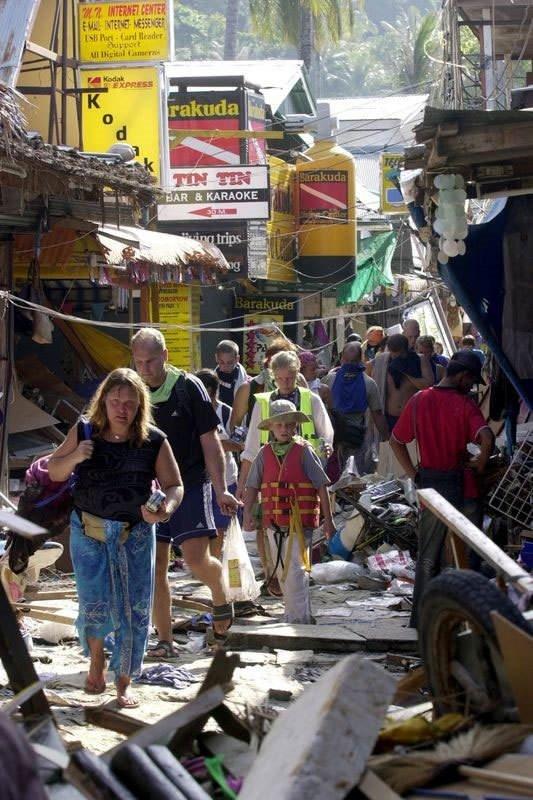 Endonezya'da 2004'teki tsunami felaketi