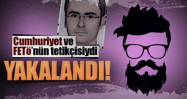 Cumhuriyet ve FETÖ'nün tetikçisi Gaziantep'te yakalandı
