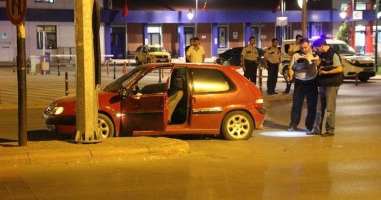 Konya'da alkollü sürücü izne gelen askeri bıçakladı